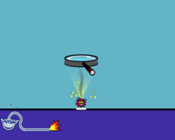 Burning Sensation in WarioWare: Smooth Moves.